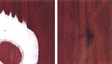 Remove / repair white water marks on wood furniture in just one step